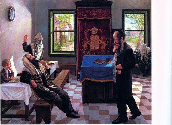 תמונה של יעקב רחל ויוסף בספירות העליונות