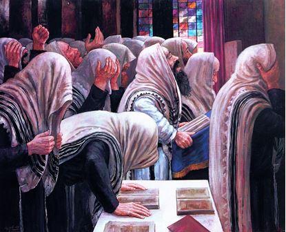 תמונה של לעובדו בכל לבבכם - תפילת שמונה עשרה