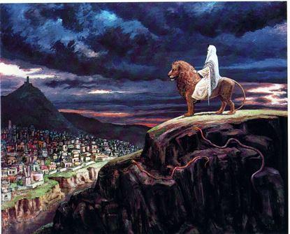 תמונה של כאשר ירים משה ידו
