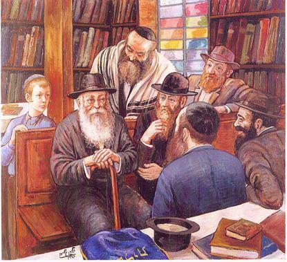 תמונה של שיחה עם הרב ווכטר עם התניא